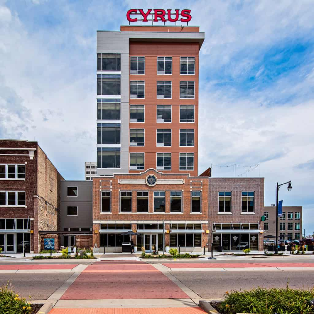 MCP COMPLETED TOPEKA'S FIRST BOUTIQUE HOTEL