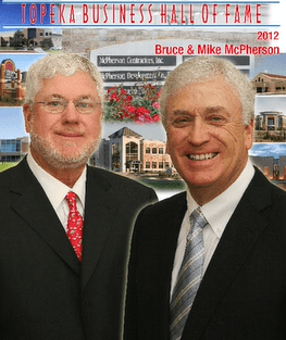 MCPHERSON BROTHERS INDUCTED INTO THE BUSINESS HALL OF FAME