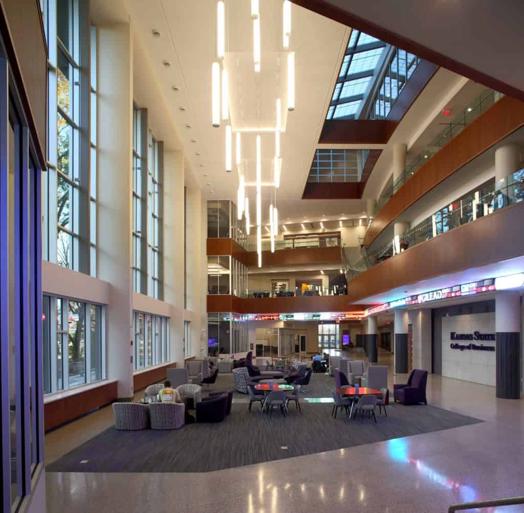 MCI COMPLETED THE KSU – COLLEGE OF BUSINESS ADMINISTRATION BUILDING