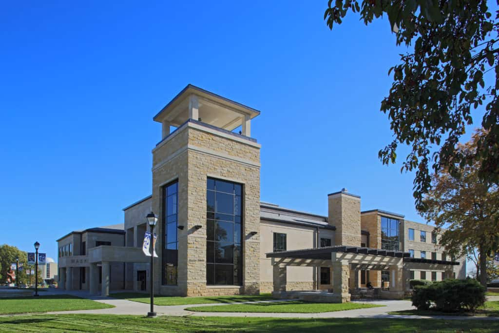 "WASHBURN UNIVERSITY'S ""FRONT DOOR"" WAS COMPLETED"